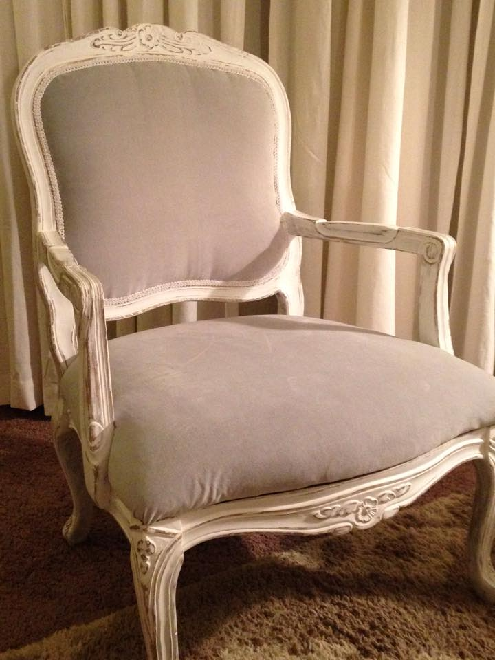 French Provincial Chair >> Restful Nook Upholstery Project French Provincial Chair